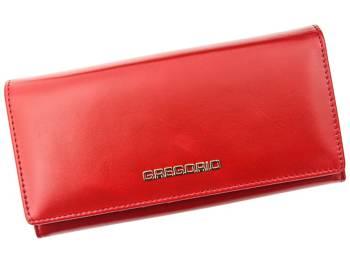Duży piękny damski portfel skórzany Gregorio