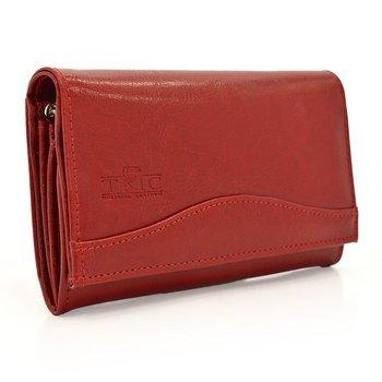Portfel Elkor e124 czerwony
