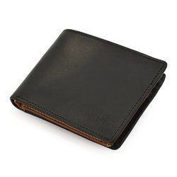 Portfel TMC 096m czarny/koniak Ultimate Quality RFID