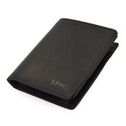 Portfel męski TMC 015m czarny Ultimate Quality RFID