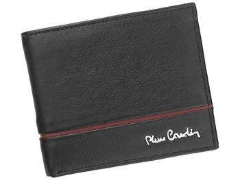 Prosty męski portfel skórzany Pierre Cardin SAHARA TILAK15 8824
