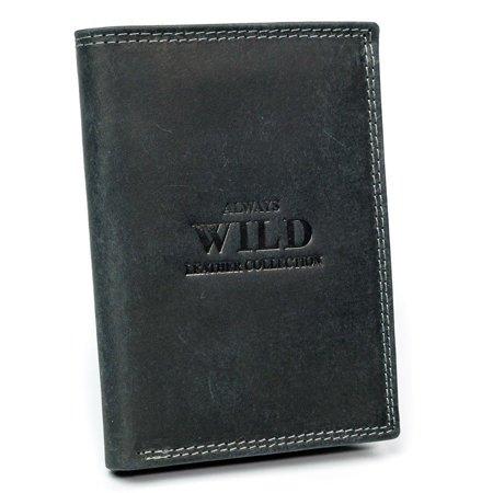 Duży portfel skórzany dla mężczyzny z RFID Stop — Always Wild