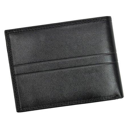 Elegancki pojemny męski portfel skórzany Valentini