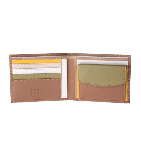 Prosty klasyczny męski portfel skórzany od DuDu