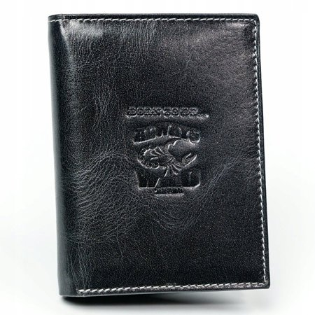Skórzany portfel męski skóra naturalna RFID STOP